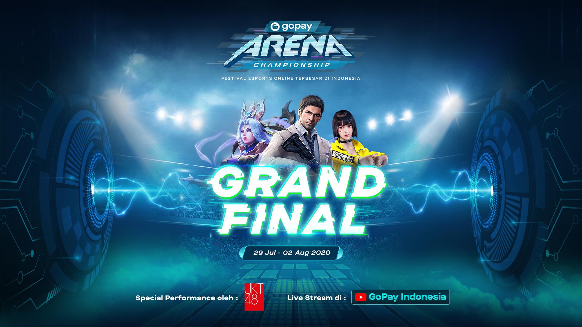 GoPay Arena Championship Makin Memanas Masuki Babak Grand Final